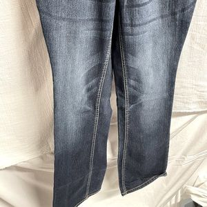 Cute Maternity Flare Bottom Jeans